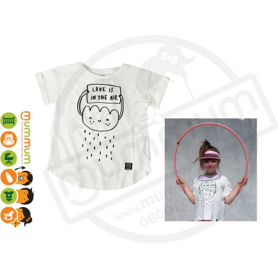 Kukukid T shirt Love is in the air Cloud