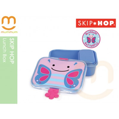 SKIP HOP Leak Proof Kid's Lunch Box Butterfly Small Container Included
