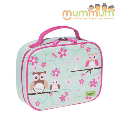 Bobble Art Insulated Lunch Box/Bag - Owl