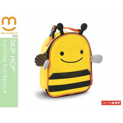 SKIP HOP Zoo Lunchie Insulated Lunch Box/Bag - Bee