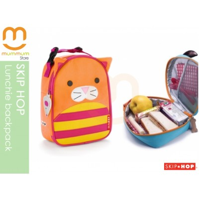 SKIP HOP Zoo Lunchie Insulated Lunch Box/Bag - Cat