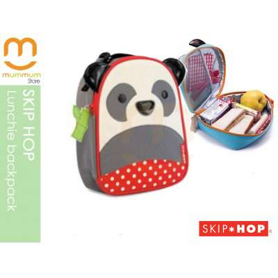 SKIP HOP Zoo Lunchie Insulated Lunch Box/Bag - Panda