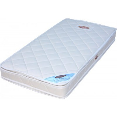Touchwood Luxus Cot Mattress Pocket Sprung With Double Pillow Top Wool and latex