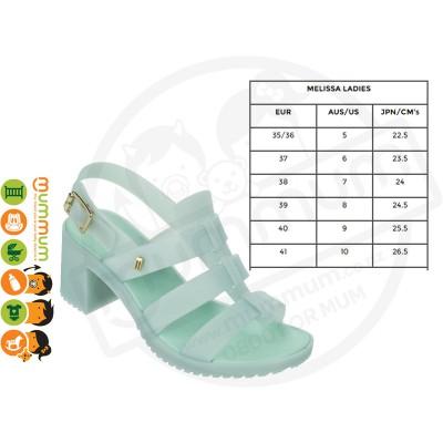 Melissa Flox High Women's Sandal Mint Size35-39 Stock Clearance