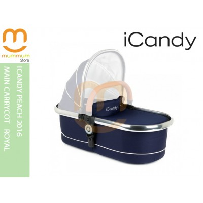 iCandy Peach2016 Main Carrycot Royal