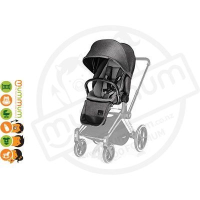 Cybex Priam Lux Seat Manhattan Grey (chassis sold separately)