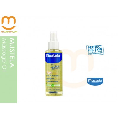 Mustela Massage Oil  With Spray Applicator Cap - 110ml