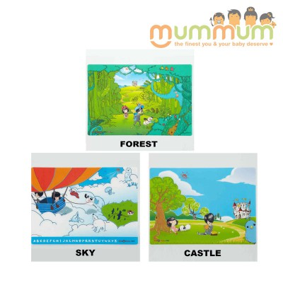KID2YOUTH DESK MAT FORREST/ CASTLE / SKY