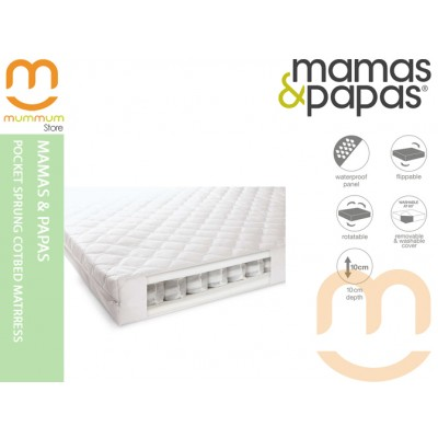 Mamas & Papas Pocket Sprung Cotbed Mattress