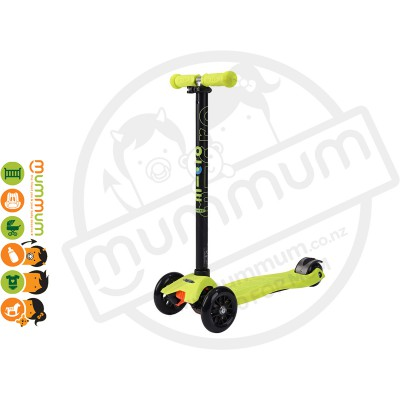 Micro Maxi Scooter Neon Yellow
