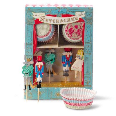 Meri Meri The Nutcracker Tale Cupcake Kit