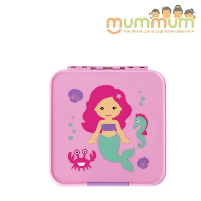 Little lunch box co  2 mermaid snacks