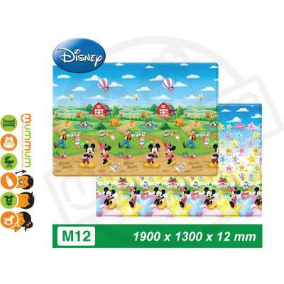 Parklon PVC Bumper Playmat Mickey Minnie M 1900*1300*12mm