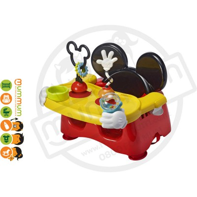 The First Years Mickey Mouse Activity Feeding Seat With Toys 6M+