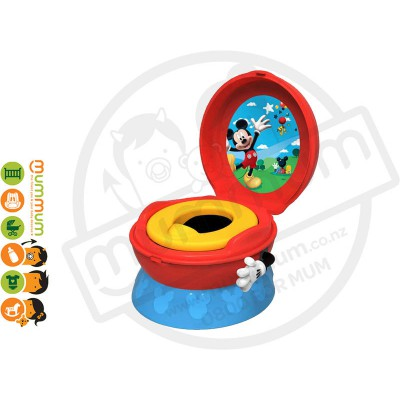 The First Years Mickey Mouse Flushing Sounds Potty