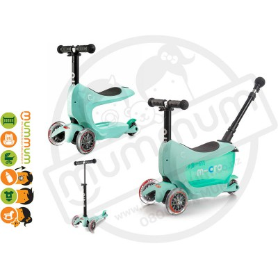 Micro Mini2go Deluxe Plus - Scooter Mint