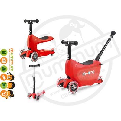 Micro Mini2go Deluxe Plus - Scooter Red