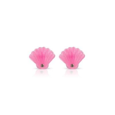 Milk & Soda Earrings Seashell Pink