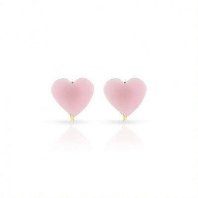 Milk & Soda Earrings Heart Pink