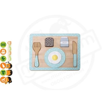 Bloomingville Mini Breakfast Food Playset