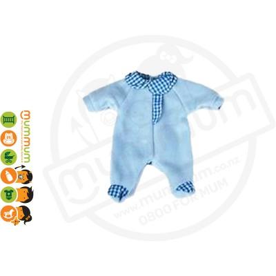 Miniland Doll Clothes Blue Pyjama (32cm Doll) Stock Clearance