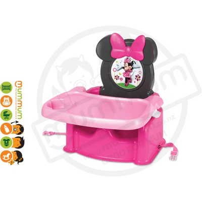 The First Years Disney Minnie Mouse Feeding Booster Seat 6M+