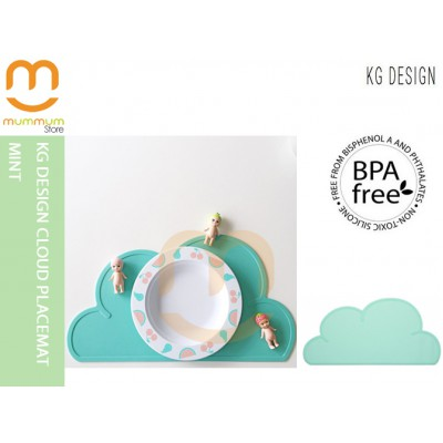 KG DESIGN CLOUD PLACEMAT Mint