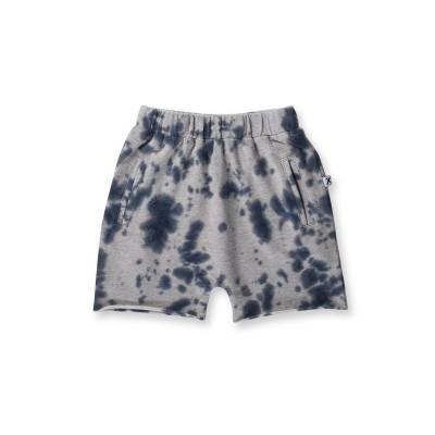 Minti Bleached Short Grey & Blue