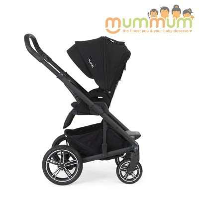 Nuna Mixx2 Pram Stroller Black Caviar Free Accessories
