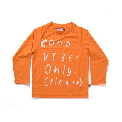 Minti Good Vibes Long Sleeve Rashie High Vis SPF50+ Awesome For Summer