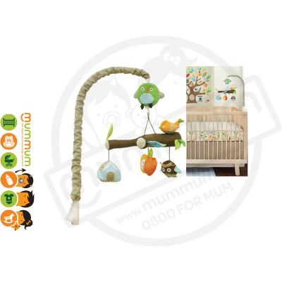 SKIP HOP Musical Crib Mobile Treetop Friends