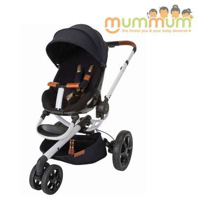 Quinny Moodd Pram Stroller Rachel Zoe Collection All Terrian (Not incl capsules)