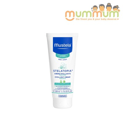Mustela Stelatopia Emollient Cream 200ml NO Eczema
