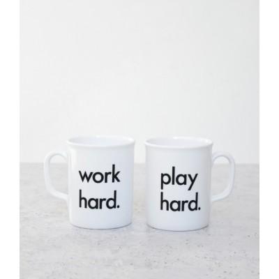 Nor Folk Work Hard, Play Hard Mug Made in UK