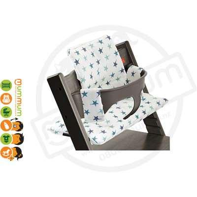 Stokke Tripp Trapp Seat Cushion Aqua Star