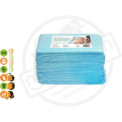 Thinkwise Blue Underlay 50 Disposable Change Mats