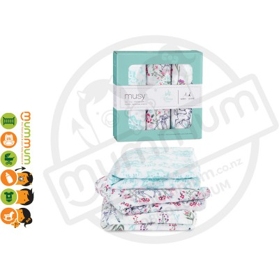 Aden and Anais Disney Baby Muslin Squares - Bambi 3pack