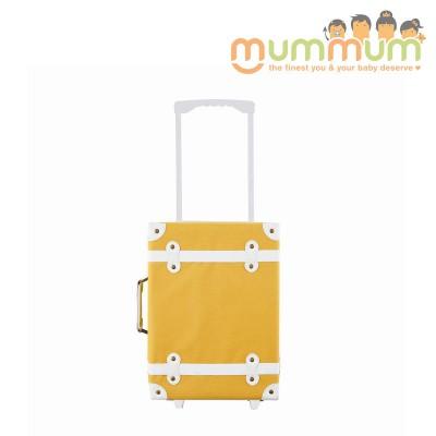 Olli Ella See Ya Suitcase Mustard