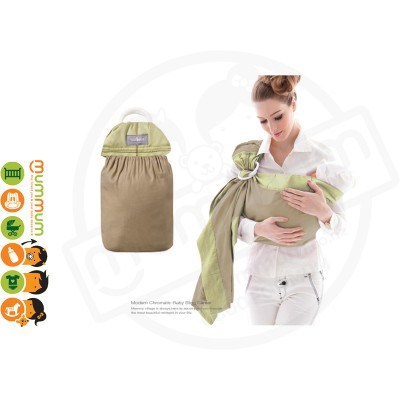 Mammy Village Baby Sling Green