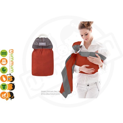 Mammy Village Baby Sling Red