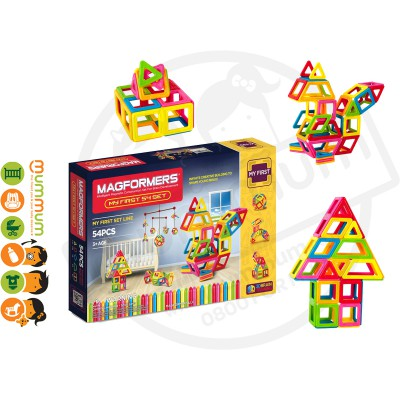 Magformers My First 54pcs Set