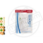 Dr.Brown Bottle Replacement Nipple 2-pack Level 1
