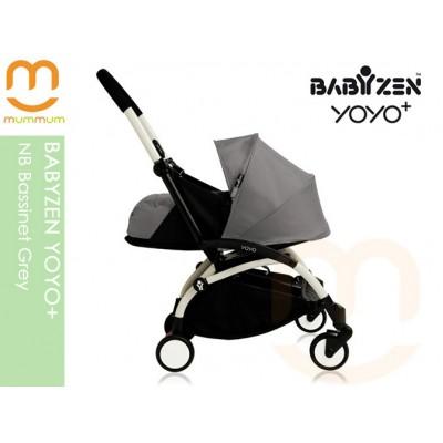 BABYZEN YOYO+ NB Bassinet Grey