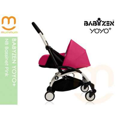 BABYZEN YOYO+ NB Bassinet Pink