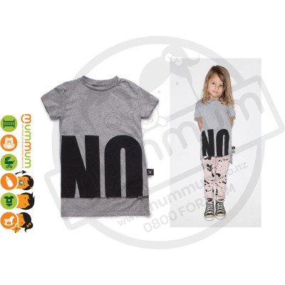 Nununu No Tee Heather Grey