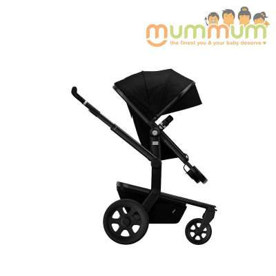 Joolz Day2 Studio Noir(Includes: Chasis, Bassinet, Seat, Storage basket)