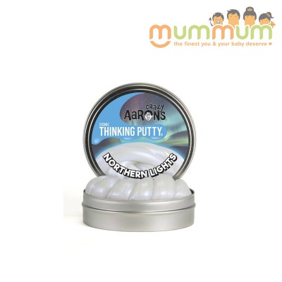 Crazy Aarons Thinking Putty Northern Lights 3.2oz ---10cm--