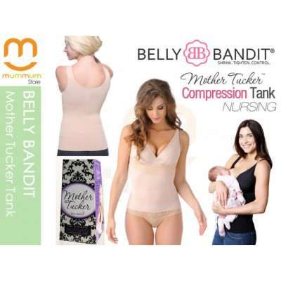 Belly Bandit Compression Nursing Tank Nude S