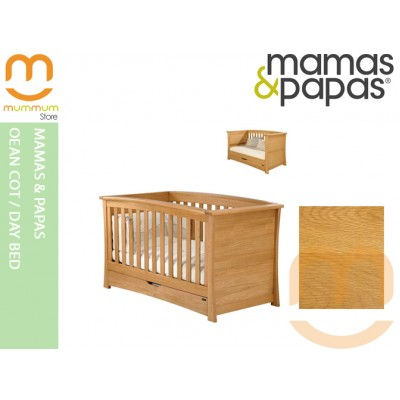 Mamas & Papas Ocean Cot / Day Bed Spring Oak
