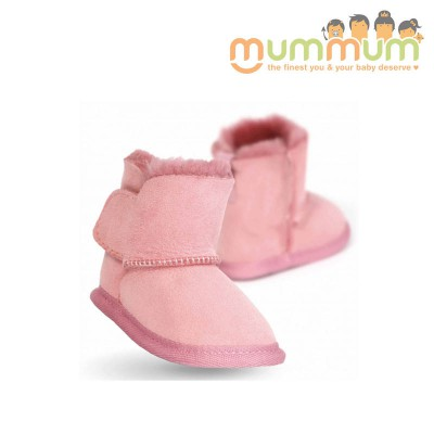 Emu baby bootie orchid pink 0-6m